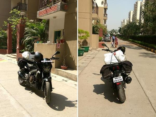 Start From Noida For Tamil Nadu Bike Trip