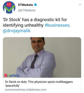 ET Markets Profile Of Dr Vijay Malik