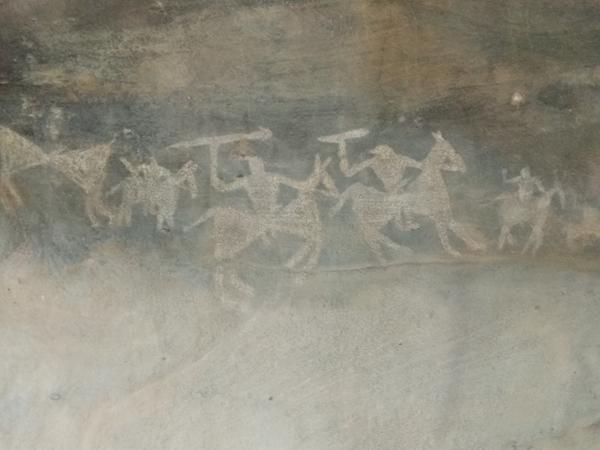 Bhimbetka Rock Face Paintings 2