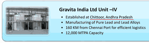 Nile Ltd Gravita Unit Four Project Expansion At Chittoor